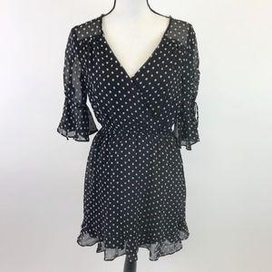 NWOT Trixxi Polka Dot Dress M